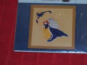 Rose in Winter Counted Cross Stitch Chart