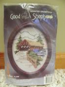 Good Shepherd Counted Crosstitch House, Dmc Floss