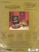 American Heritage Mini Rugs - Heat Transfers #32010 - 5 Patterns