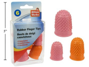 Quilting Finger Grips, Pack of 6, 3 Sizes