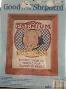 Premium Hog Wash - Cross Stitch Kit No. 83721 - Framed Size 20cm x 25cm