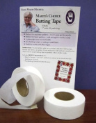 Marti's Choice Batting Tape 2.5cm Wide, 30 Yards Long, 2 Rolls Per Package