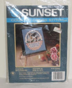 Vintage Sunset COW Cross Stitch Kit ~ A Touch of Country 13cm x 13cm
