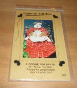 Christmas Cookie For Santa Rosie Reindeer Pattern