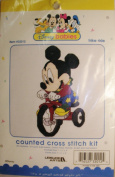 Disney Babies Mickey Mouse Counted Cross Stitch Kit Trike Ride #32012
