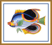 Fallour's Renard's Fantastic Colourful Tropical Fish 2 Counted Cross Stitch Chart