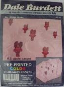 Ballerina Bears - Pre-Printed Colour Tear-Away Canvas by Dale Burdett