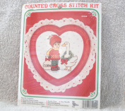"Holiday ""Corn"" Counted Cross Stitch Kit"