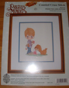 Precious Moments 'Praise The Lord Anyhow' Counted Cross Stitch Kit 20cm x 25cm