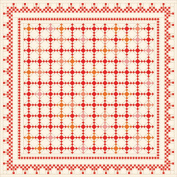 American Jane Patterns Berries and Cream Quilt