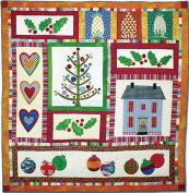 American Jane Patterns Folk Art Christmas Quilt