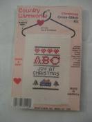 Country Wireworks Christmas Cross-Stitch Kit 'Joy At Christmas'
