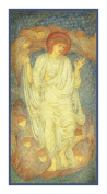 Christ in Glory by Arts and Crafts Edward Burne-Jones Counted Cross Stitch Chart