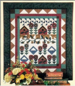 Thimbleberries A Patchwork Garden Classic Country Wall Hanging