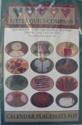 Calendar Placemats - Applique Patterns & Instructions by Kim Schaefer #139