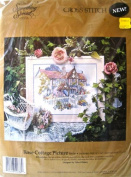 Something Special Cross Stitch Rose Cottage Picture