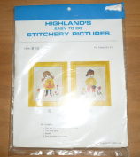 Vintage Highland's Little Boy Stitchery Kit