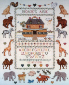 Elsa Williams Counted Cross Stitch Kit - Two By Two - Noah's Ark - Designed by Nancy Bombard