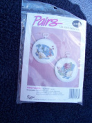 Fan Floral Counted Cross Stitch Kit