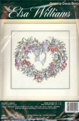 Elsa Williams Counted Cross Stitch HEARTFELT WREATH - Michael A. LaClair