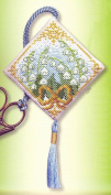 Textile Heritage Scissor Keep Cross Stitch Kit - Lily of the Valley