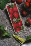 Royal Paris Les Fraises Bookmark Cross Stitch Kit