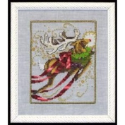 Rudolph Cross Stitch Pattern