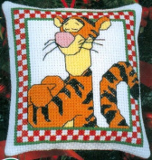 Leisure Arts Tigger Ornament Cross Stitch Kit