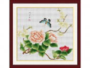 Happy Forever Cross Stitch, flowers, Quietly elegant seasons 3