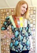 Anna Maria Horner Painted Portrait Blouse & Dress