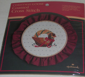 Christmas Goose Counted Cross Stitch