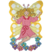Craftways Fairy Plastic Canvas Wall Hanging Plastic Canvas Kit