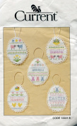 Current Easter Eggs Counted Cross Stitch Kit ~ Can be Personalised