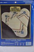 FOUR NAPKINS 36cm x 36cm - Embroidery - Country Cross Stitch Design