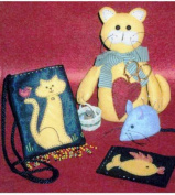 Cat Pattern - Miss Kitty's Sewing Accessories - Robb-n-Graves