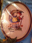 Hummel Embroidery Kit the Umbrella Children