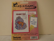 """CAT-A-TUDES NEEDLEPOINT KIT BY JANLYNN """"PRIORITIES"""""""