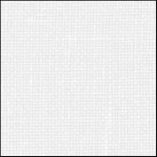 Zweigart 32Ct Belfast Linen-46cm X 70cm Needlework Fabric - White