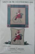 Santa on an Old-Fashioned Bike by Jan Kornfeind - Collectors Choice Olde Santa Series