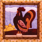 Quilt Magic 30cm by 30cm Rooster Kit