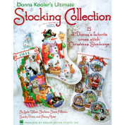 Leisure Arts Stocking Collection Cross Stitch Book