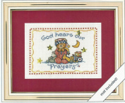 God Hears Our Prayers Counted Cross Stitch Kit - Weekenders