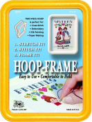 "Easy Street Crafts ""Square"" Embroidery Hoop-Frame, 13cm by 18cm , Yellow"