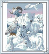 Happy Forever Cross Stitch,The animal, The arctic animals