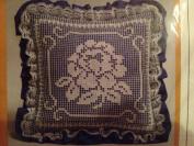 The Creative Circle 0471 Blue Garden Beauty Pillow Kit 25cm X 25cm