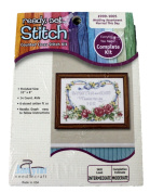 Janlynn Ready Set Stitch Counted Cross Stitch Kit Wedding Married This Day