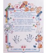 Janlynn Fingerprints Cntd X-Stitch Kit