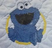 Janlynn Cookie Monster Bib - Stamped Cross Stitch #68-56
