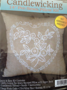 Candle Wicking 36cm Pre-sewn Pillow Kit ~ Heart