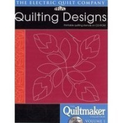 Electric Quilt Quilting Designs-The Quiltmaker Collection Vol 1